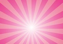 放射線の背景(ピンク)