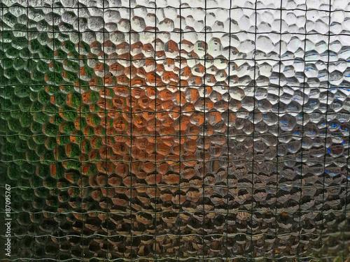 Fotografie, Obraz  Finestra di Vetro come Texture Glass Window as Texture