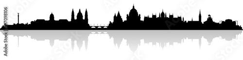 Skyline Budapest Canvas Print