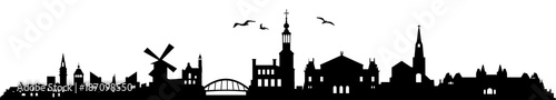Skyline Amsterdam Wallpaper Mural