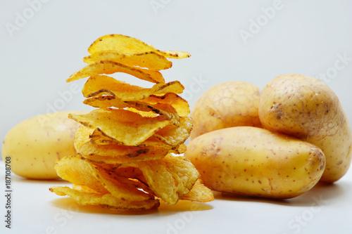 Cuadros en Lienzo  Potato chip