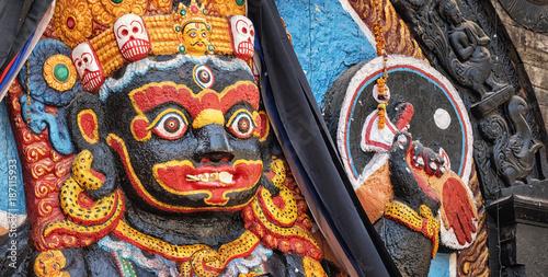 Photo Kala Bhairava Temple, Kathmandu, Nepal