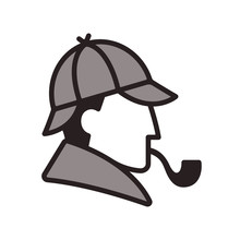 Sherlock Holmes Profile Logo