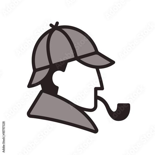 Photo Sherlock Holmes profile logo