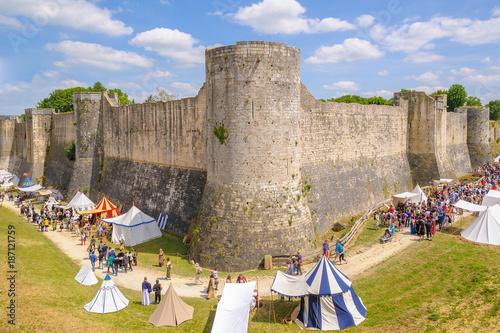 Provins Medieval Festival taken place during mid June