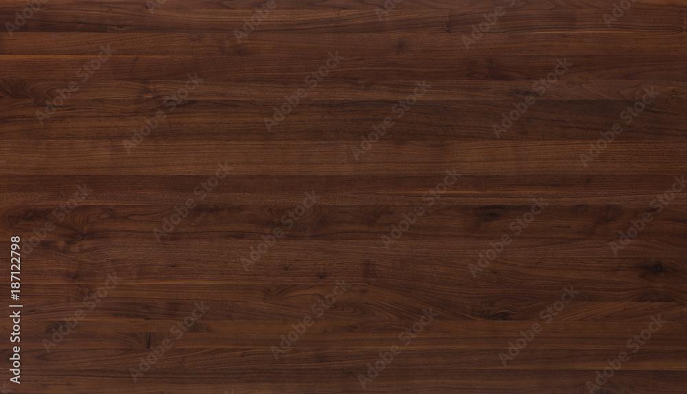 Fototapeta walnut wood table texture background
