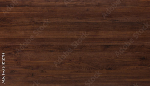 Fotobehang Hout walnut wood table texture background