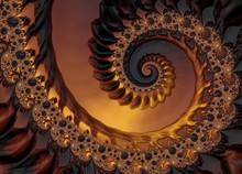 Gold Fractal, Illustration