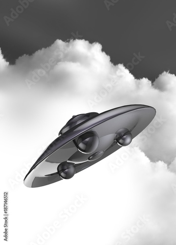 UFO, illustration