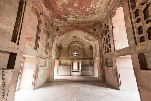 Photo  Inside Agra Fort in India