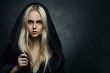 Blond In Hood