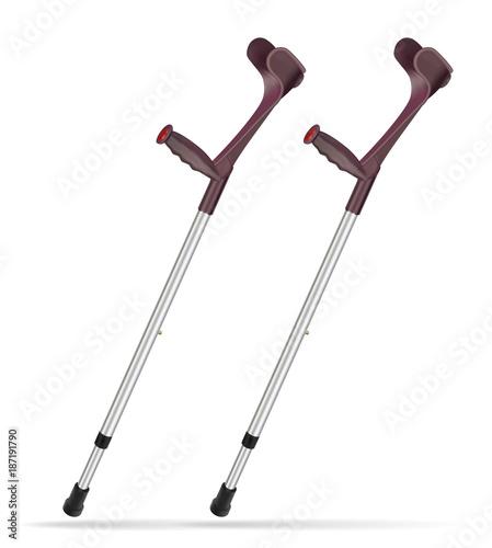 Cuadros en Lienzo Elbow crutch