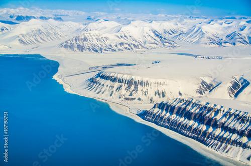 Fotografie, Obraz  Glacial landscapes, Spitsbergen, Svalbard, Norway