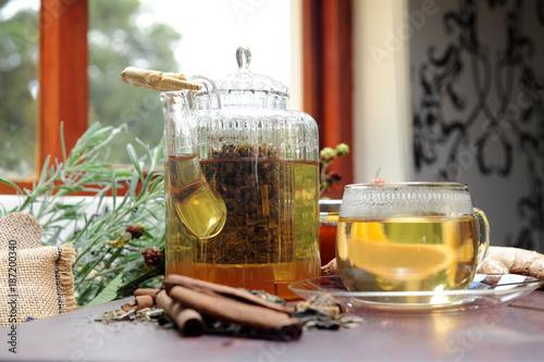 Foto op Canvas Alcohol Infused Roobush Tea