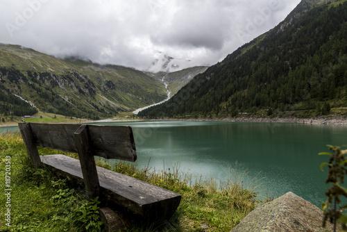Poster Bergen Lake