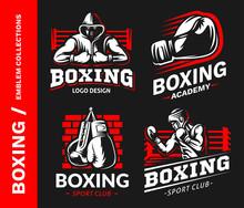 Boxing Logo, Emblem Collection...