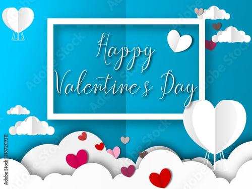 Fototapety, obrazy: valentine's day - saint Valentin - heart - coeur