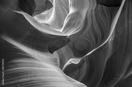 Photo  Antelopes Canyon, the world famous slot canyon