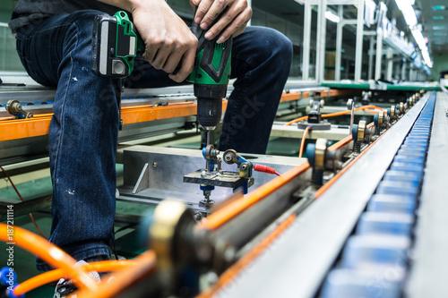Obraz na płótnie Maintenance Repair conveyor Line