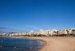 Blanes Beach And Town Skyline