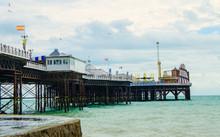 Brighton Pier On The English C...