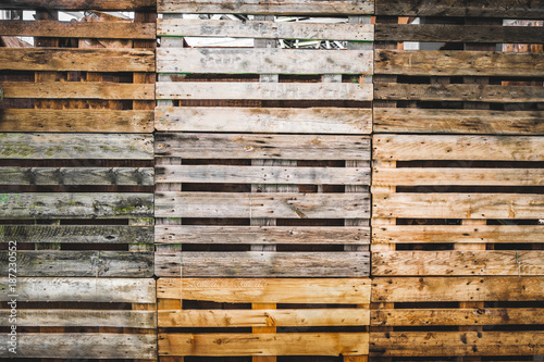 Fotografia pallets texture grunge copy space wooden background warehouse wallpaper