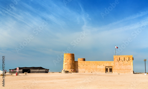 Poster Moyen-Orient Al Zubara Fort in Qatar, Middle East
