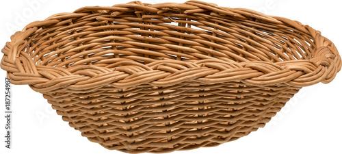 Obraz Wielkanocny kosz wiklinowy - fototapety do salonu