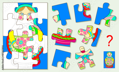 Logic puzzle for children and adults  Need to find corresponding