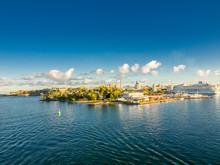Shoreline Of San Juan Bay In P...