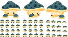 Cute Mushroom Game Character