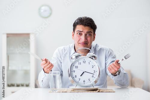 Fotografie, Obraz  Concept of slow service in restaurants