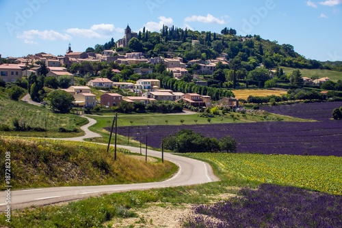 Photo  Summer in southern France