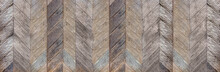 Dark Brown Rustic Diagonal Har...