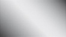 Abstract Monochrome Black Dott...