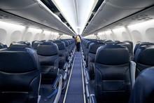 Empty Passenger Airplane Seats...