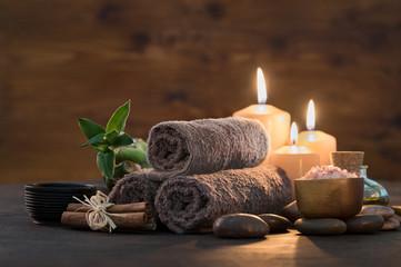 Zabiegi kosmetyczne spa ze świecami
