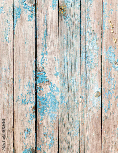stare-drewniane-deski-pomalowane-niebieska-farba