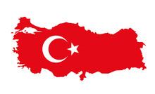 Vector Illustration Of Turkey ...