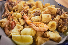 A Typical Italian Dish Fried S...