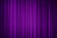 Purple Fabric Background.