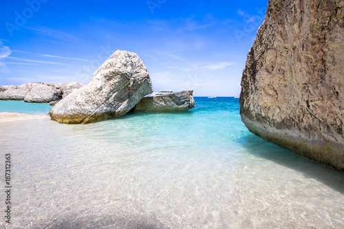 Photo  Cala Mariolu on Sardinia island, Italy