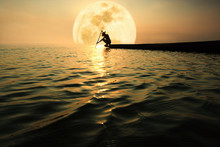 Fishermen On Fishing Boats Sta...