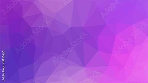 Abstract purple polygon for background - 187324110