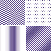 Ultra Violet Seamless Patterns...