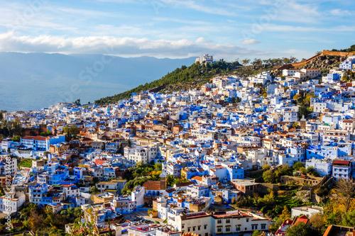Papiers peints Maroc Chefchaouen, blue city, Morocco