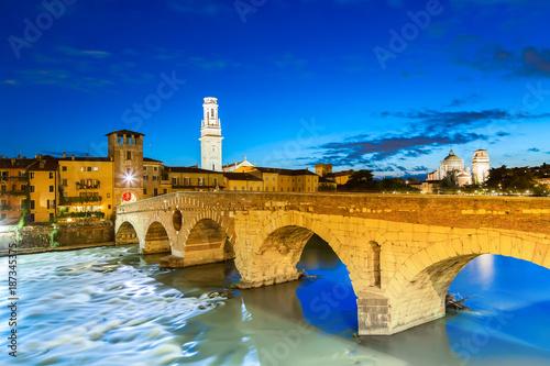 Famous Verona landmark Canvas Print