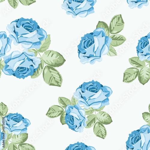 shabby-chic-blue-rose-szwu-na-bialym-tle