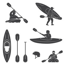Set Of Extrema Water Sports Eq...
