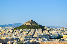Mount Lycabettus In Athens.
